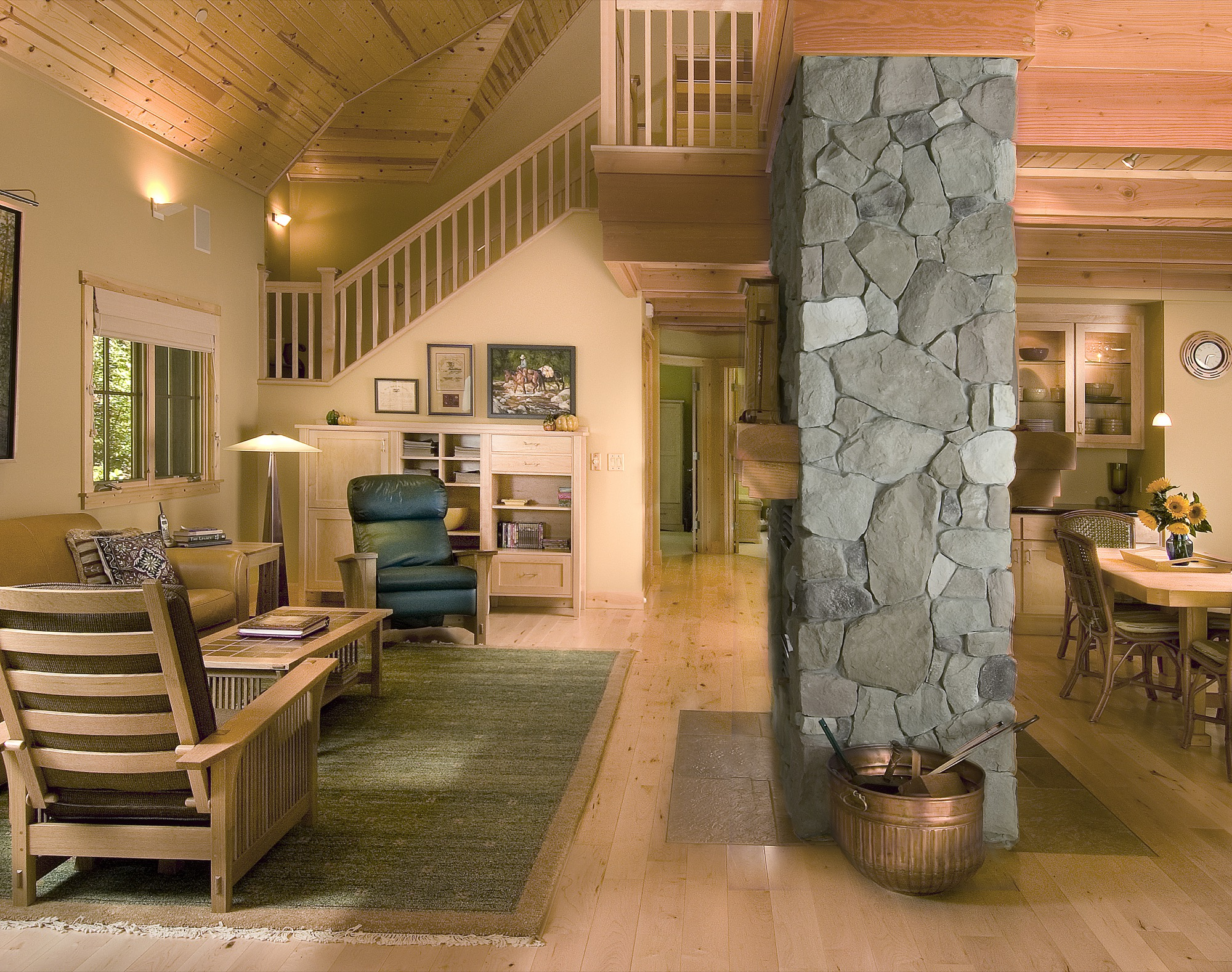 Mountain Vacation Living Room