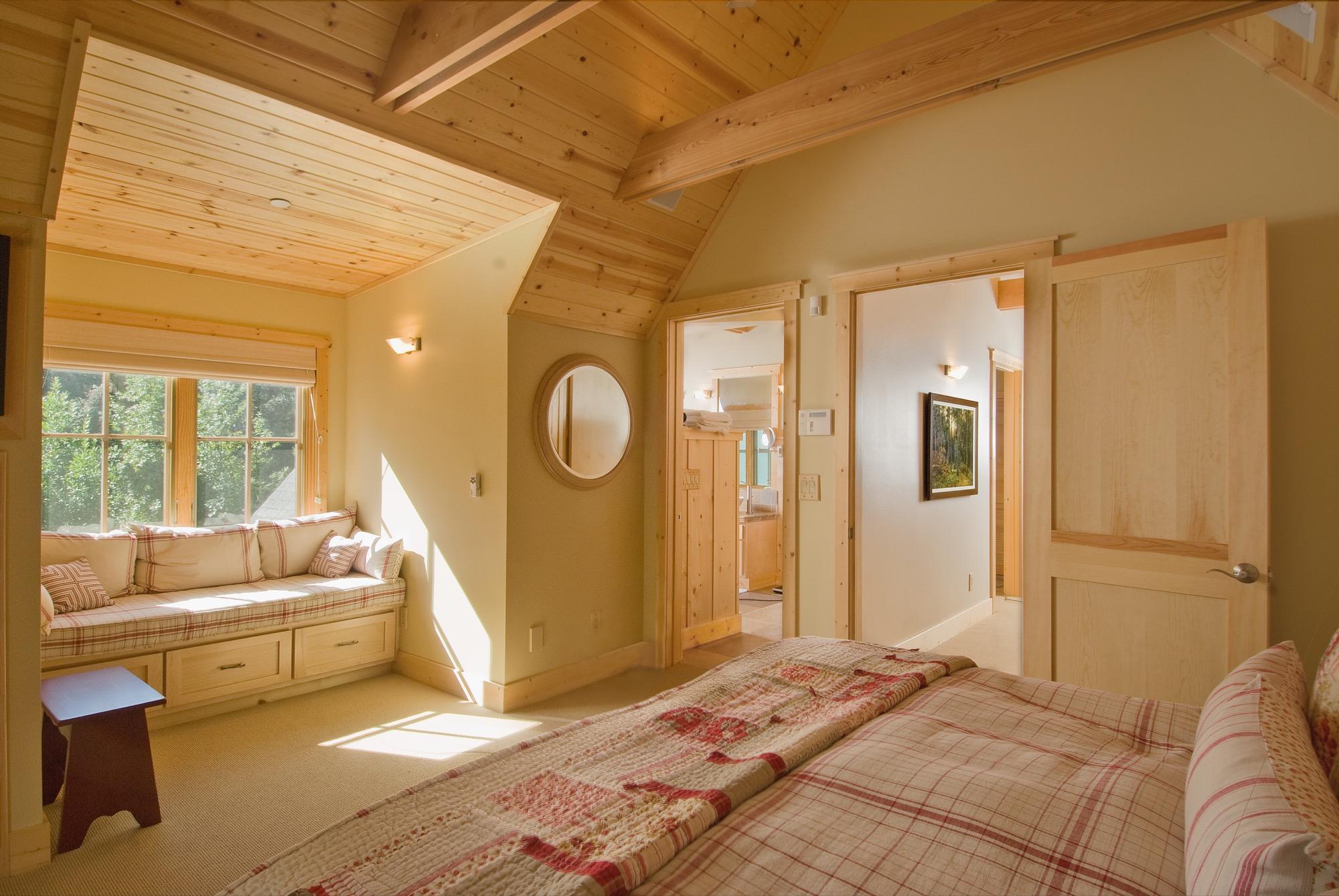 Mountain Vacation Bedroom